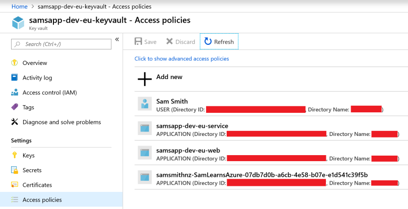 Security with Key Vault and CredScan – Sam Learns Azure